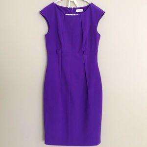 CK purple dress